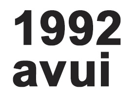 1992-avui